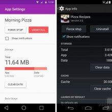 App-settings