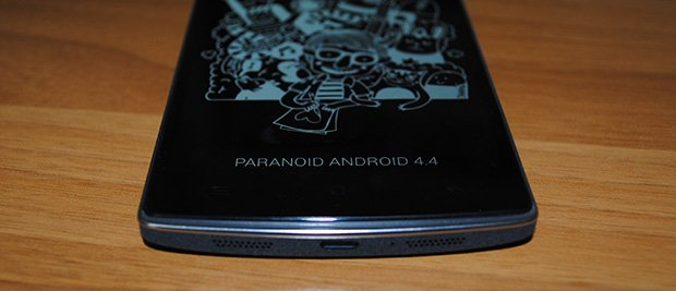 OnePlus One riceve ufficialmente Paranoid Android 4 4 4
