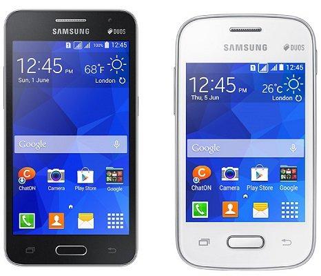 Galaxy Core 2 e Pocket 2