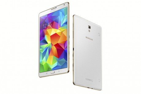 Galaxy Tab S 8.4 inch Dazzling White 101