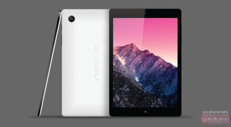 HTC Volantis Nexus 9 render