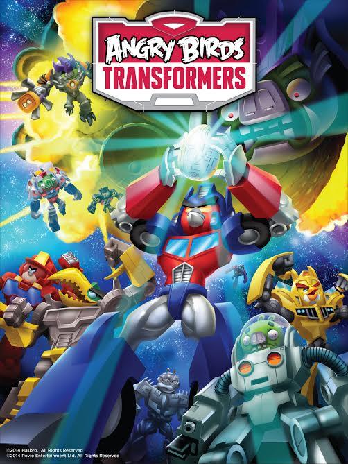 Rovio Angry Birds Transformers