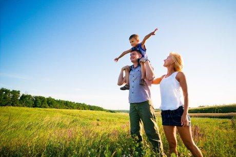 Bigstock happy family having fun outdoo 18400457