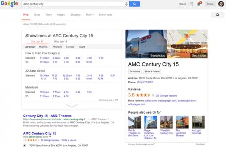 google schede programmazione cinema