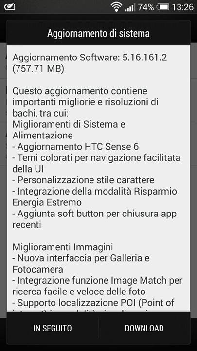 htc one m7 android 4.4.2 sense 6.0 vodafone