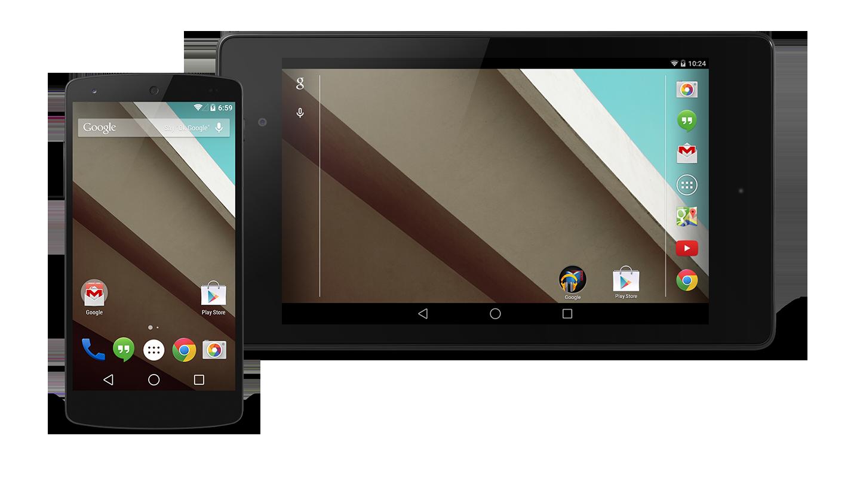 Android L Offre 6 Modalit 224 Di Colore Del Display Per