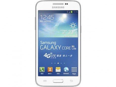 Samsung galaxy core lite front