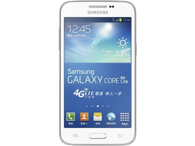 samsung galaxy core lite front