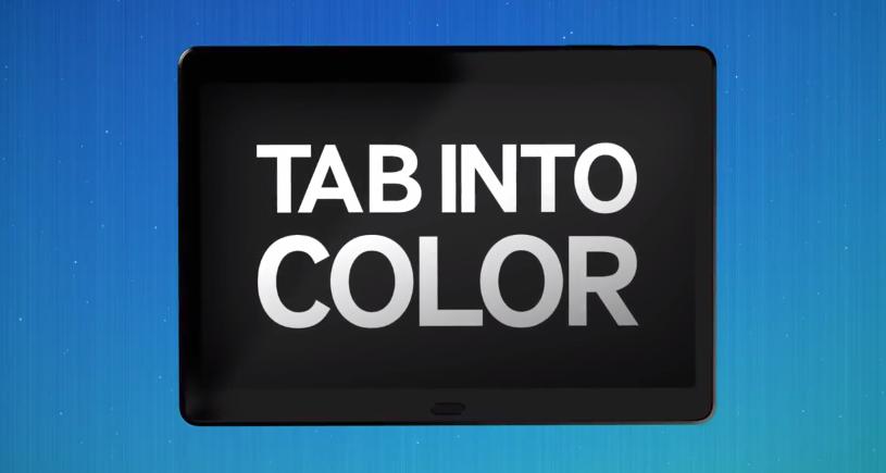 samsung galaxy premiere tab into color