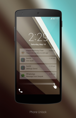 Android L LockScreen-1