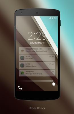 Android L LockScreen-1