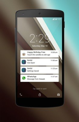 Android L LockScreen-2