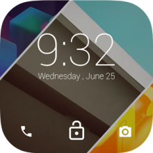 Android L LockScreen-icona