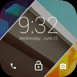 Android L LockScreen icona
