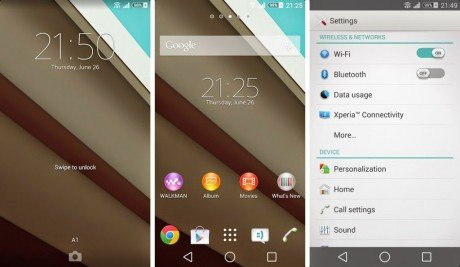Android L Theme for Sony Xperia Devices 1024x595