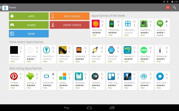 Android Wear Store