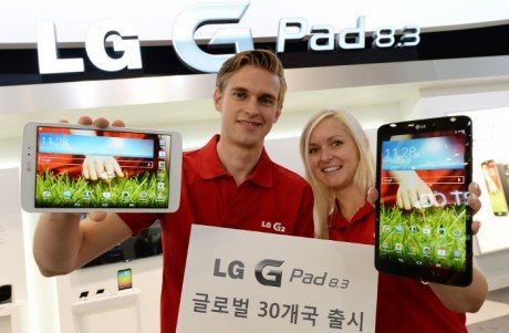 LG G Pad 8.3 Global roll out