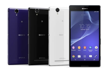 Sony Xperia T2 Ultra Android 4.4