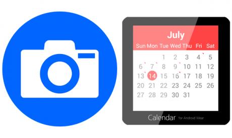 Wear Camera Remote e Calendar for Android Wear