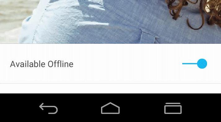 android l pulsanti barra navigazione