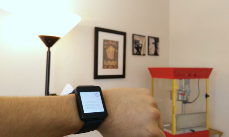 Domotica android wear