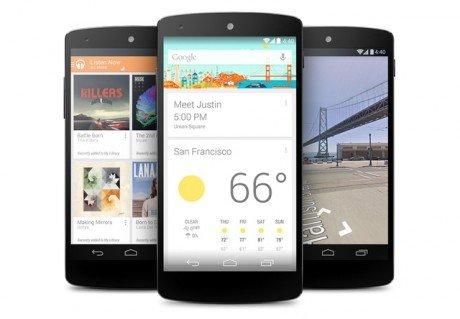 Google now nexus 5