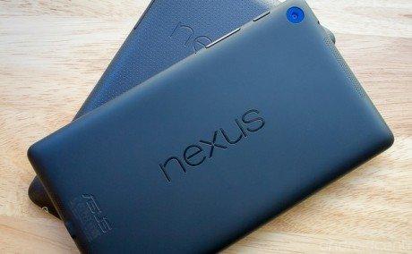 Nexus 7 old new
