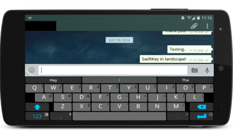 Disable Fullscreen Keyboard