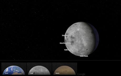 Maps Web Luna Marte