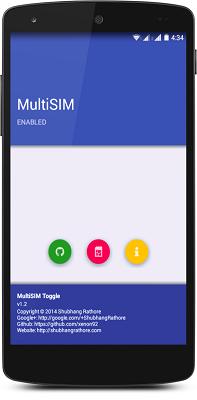 MultiSIM Toggle
