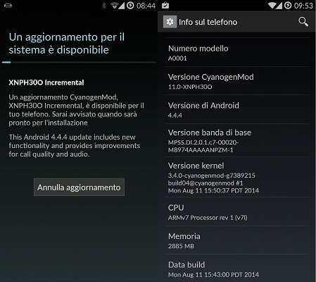 OnePlus One OTA XNPH30O