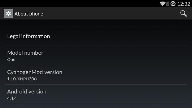 OnePlus One XNPH30O