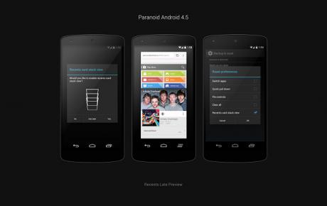 Paranoid Android 4.5 beta 2