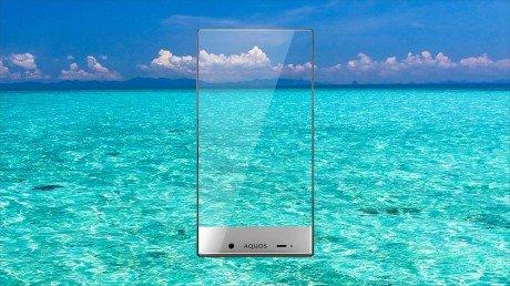 Sharp Aquos Crystal Sea