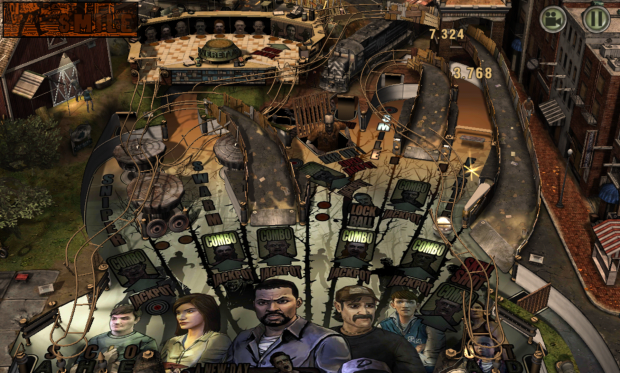 The Walking Dead Pinball-1