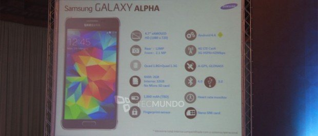 galaxy-alpha-specifications