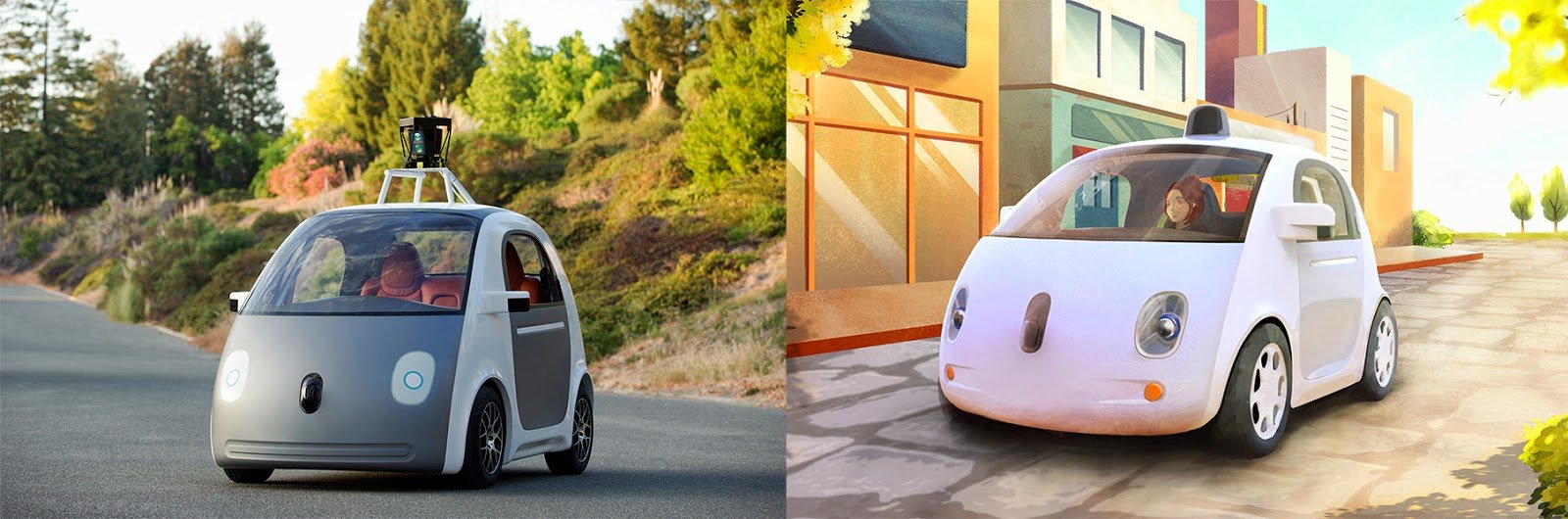 google auto prototipo
