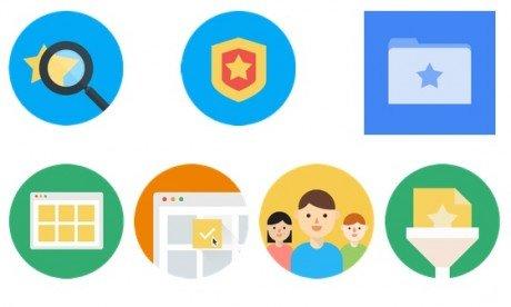 Google stars branding