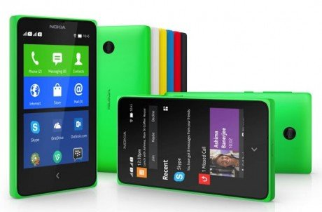 Nokia x verde
