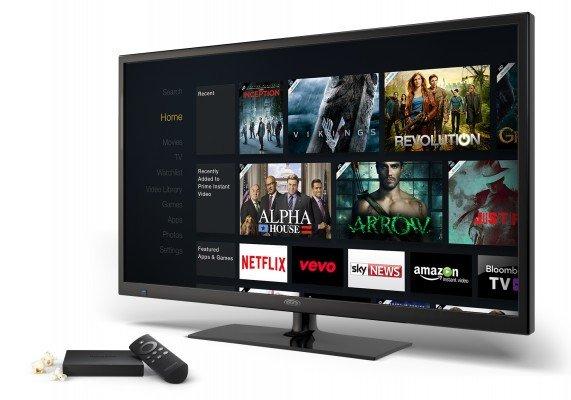 AmazonFireTV HomeScreen (angle)