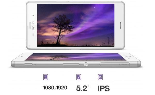 Display Xperia Z3