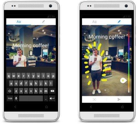 MessengerAndroidTextDrawingScreens