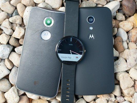 Nuovo Moto X Moto G Moto 360