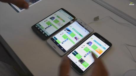 Sony Xperia Z3 vs Galaxy S5 vs LG G3