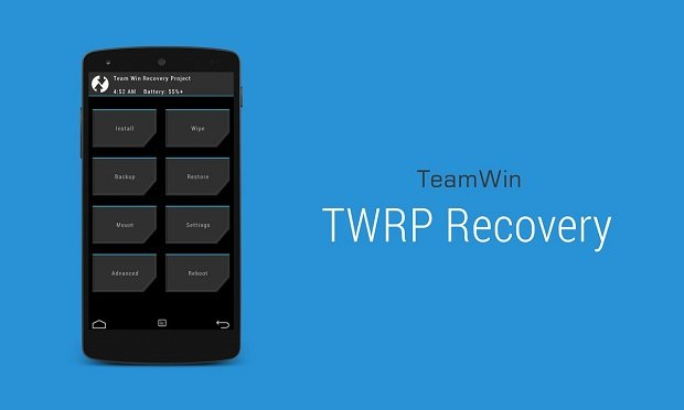 TWRP-Recovery 2.8