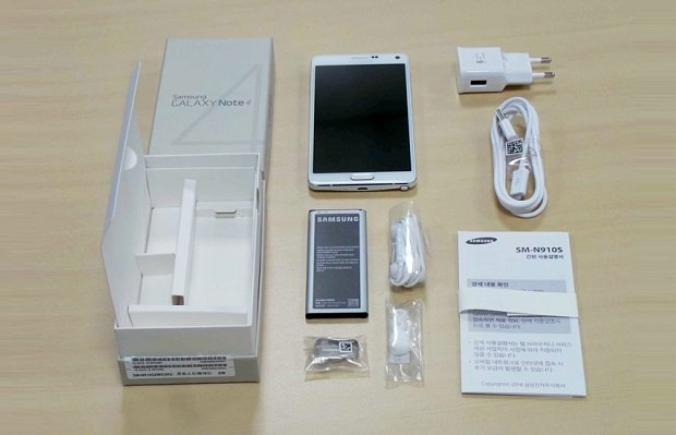 Unboxing Galaxy Note 4
