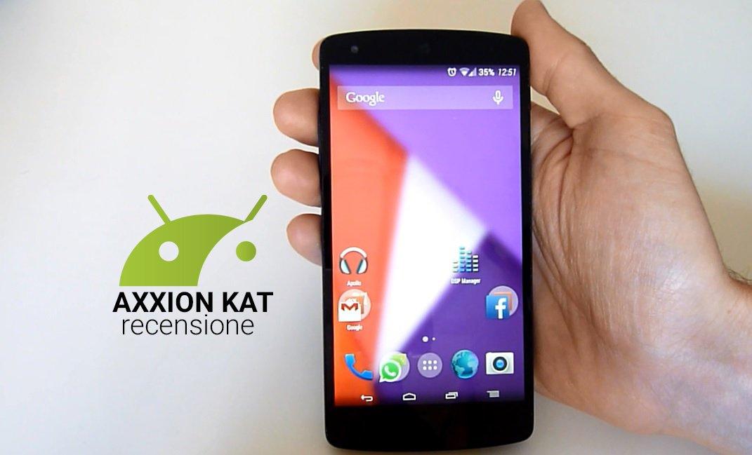 Axxion ROM su Nexus 5, la nostra prova | TuttoAndroid