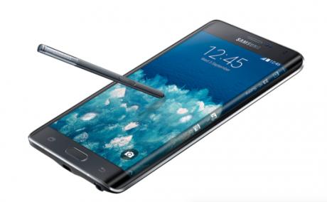 Galaxy note edge wraparound screen 540x334