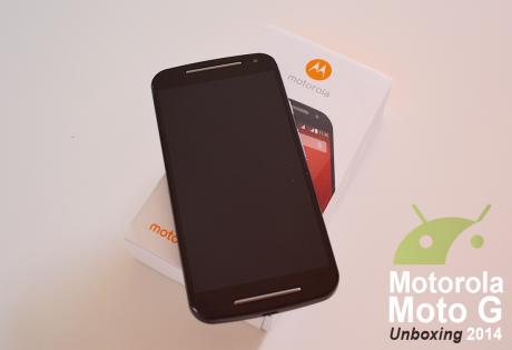 Moto g 2014 unboxing