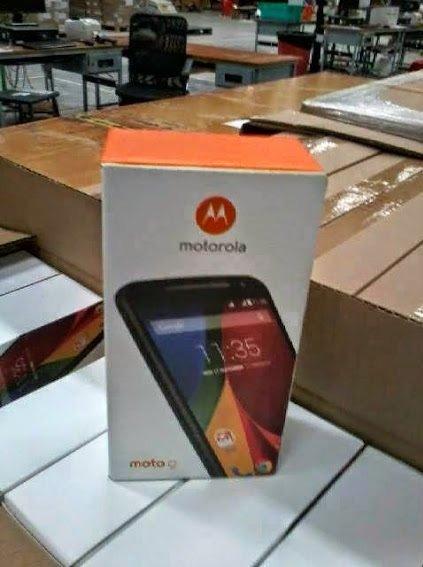 Moto g new box